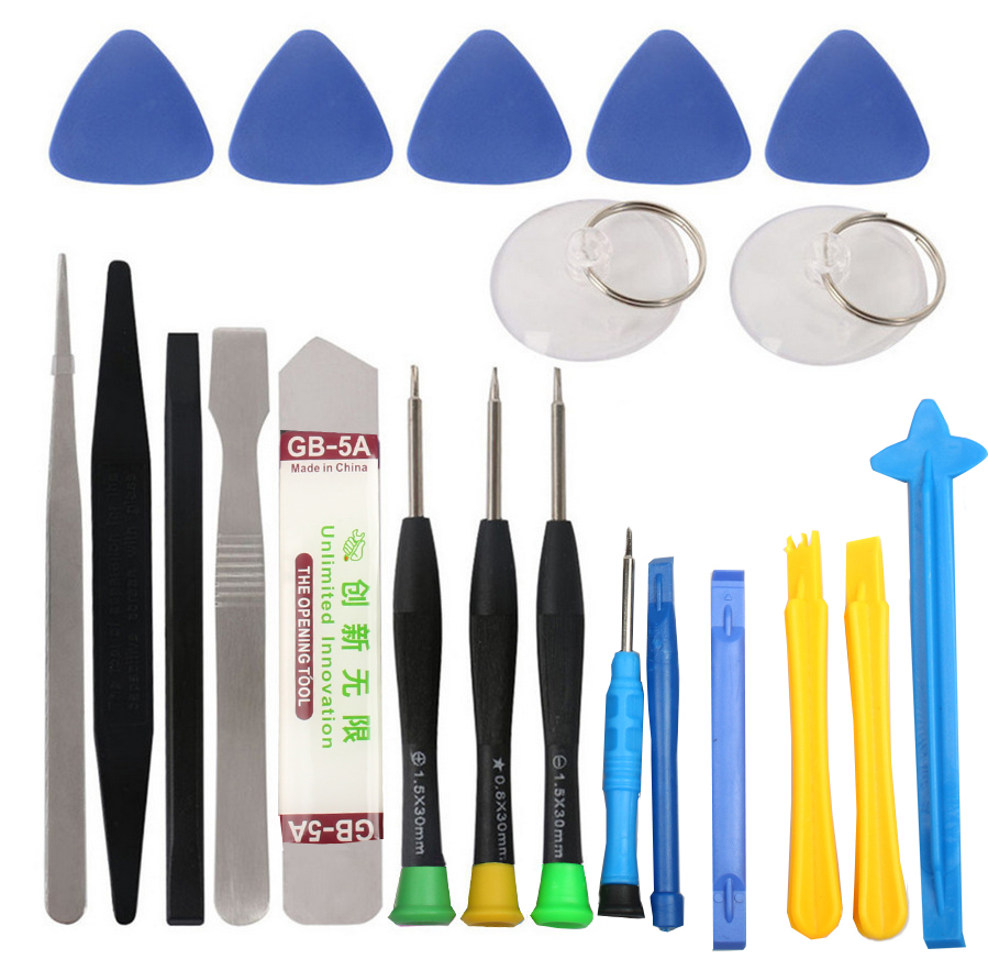 21 in 1 Mobile Phone Repair Tools Kit Spudger Pry Opening Tool Screwdriver Set for iPhone X 8 7 6S <font><b>6</b></font> Plus Hand Tools Set image