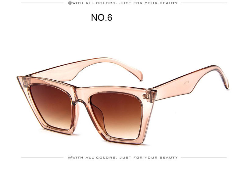 Fashion Cat Eye Sunglasses Women Brand Designer 2020 Vintage Candy Color Lens Sun Glasses Female Lady Sunglass Gradient Plastic (20)