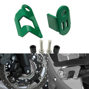 Versys 650 Front & Rear ABS Sensor Guards Cover fits For KAWASAKI VERSYS 650 VERSYS650 2007-2020 2019 Motorcycle Accessories