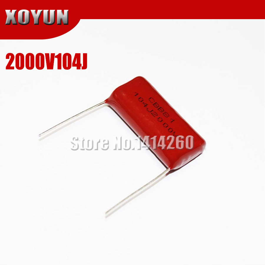 50PCS CL21 334J 400V 0.33UF 330NF P15 Metallized Film Capacitor