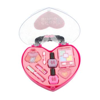 Zestaw do makijażu dla dzieci zabawki dla dziewczynek księżniczka udawaj zagraj w plastikowe różowe kosmetyki do pielęgnacji urody zabawka dla dziewczynki dziewczynki makijaż prezenty z motywem gry tanie i dobre opinie 8 ~ 13 Lat 2-4 lat 5-7 lat BT-MU0016 Chiny certyfikat (3C) Zawodów No Eat Multicolor 17 5*5*20CM 0 37KG Safe full professional makeup