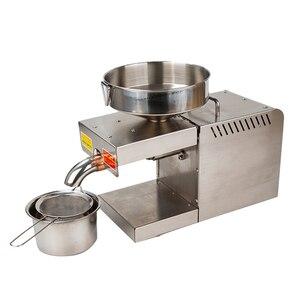 Image 2 - 1500W (Max) Rvs Food Grade Hot Koude Olie Druk Kleine Zakelijke Apparatuur Olie Druk Pinda Druk