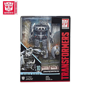 Image 2 - 11cm Transformers Jazz Studio Series Action Figure SS10 PVC Transformation Toys Robot Cars Autobot Christmas Gifts for Children
