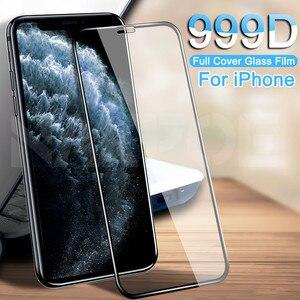 Защитное стекло с полным покрытием для iPhone 11 Pro XS Max X XR, пленка из закаленного стекла для iPhone 8 7 6 6S Plus 5