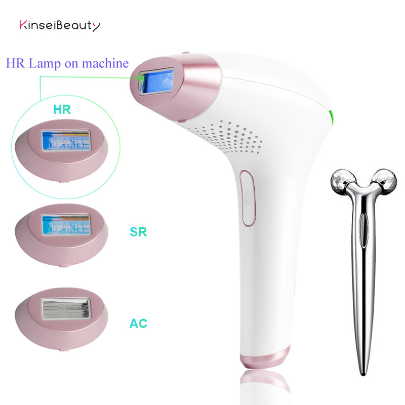 3 In1 IPL Hair Removal Epilator A Laser 500000 Flashes Hair Removal Machine For Women Depilation Laser  Hair Removal Device