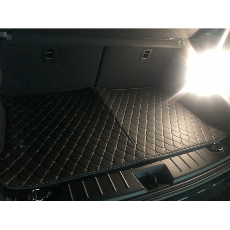 Lsrtw2017 Leather Car Trunk Mat Cargo Liner For BMW I3 2014 2015 2016 2017 2018 2019 2020 Accessories Interior Styling Carpet