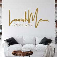 Eyelashes Wall Decal Eyebrows Eyelash Quotes Boutique Beauty Salon Murals Window Decoration E302