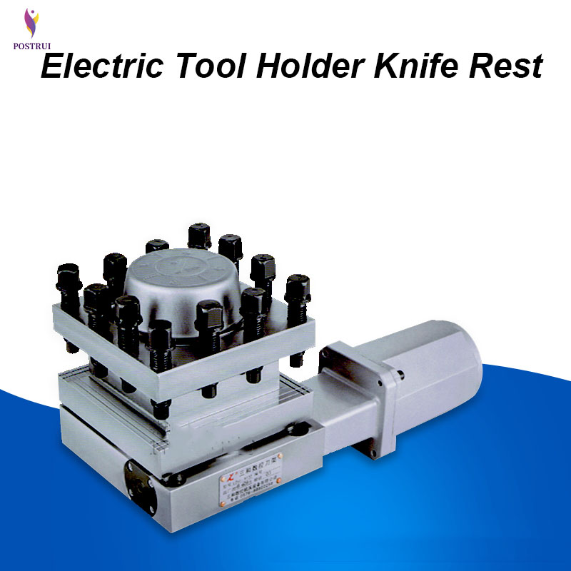 LD4B-CK6140 CNC Electric Tool Holder Knife Rest Vertical Turret 120W 380V 1400r / Min 12KN