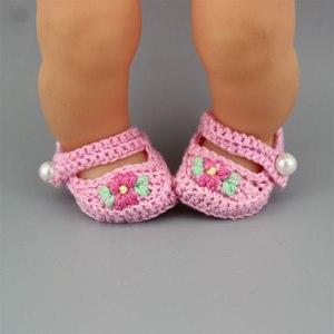 Knitting Shoes Fit 35 cm Nenuco Doll Nenuco y su Hermanita Doll Accessories
