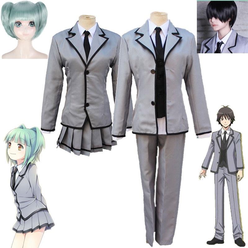 Anime Assassination Classroom Cosplay Ansatsu Kyoushitsu Kaede Kayano Isogai Yuuma Shiota Nagisa School Uniform Halloween Suit