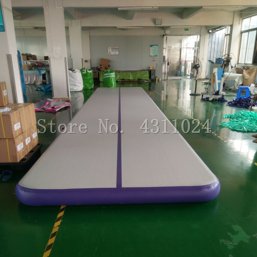Free Shipping 10x2x0.3m Inflatable Track Gymnastics Mattress Gym Tumble Airtrack Floor Yoga Olympics Tumbling wrestling Yogo