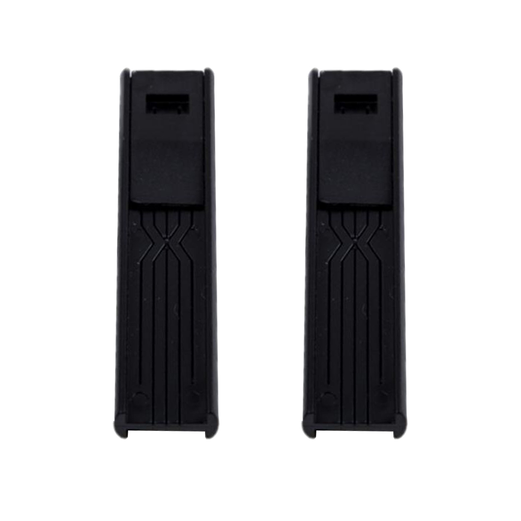 Portable 2x ABS  Saxophone Sax Reed Clips Reed Storage Case Container Wind Instrument Parts