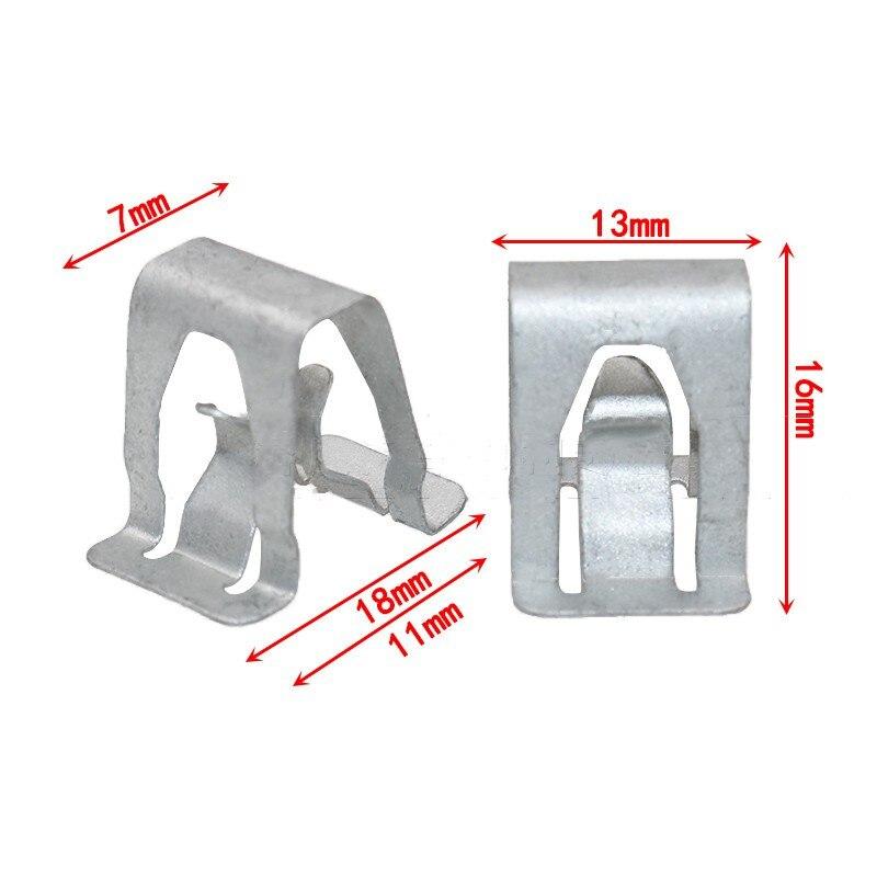 5PCS Car fuse box cover panel clips for VW Passat Magotan Golf Sagitar Bora  Gran Lavida Gran Santana metal fasteners|Auto Fastener & Clip| - AliExpress