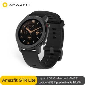 Amazfit Waterproof Smartwatch Battery 47mm-Lite Global Android 8-Sport-Modes for Ios