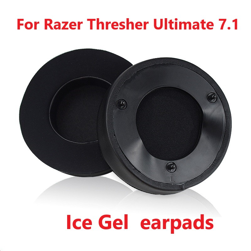 Replacement Earpads Cushion for Razer Thresher Ultimate 7 1 High Quality Soft Ice Gel Earpads for Razer Thresher Ultimate 7 1