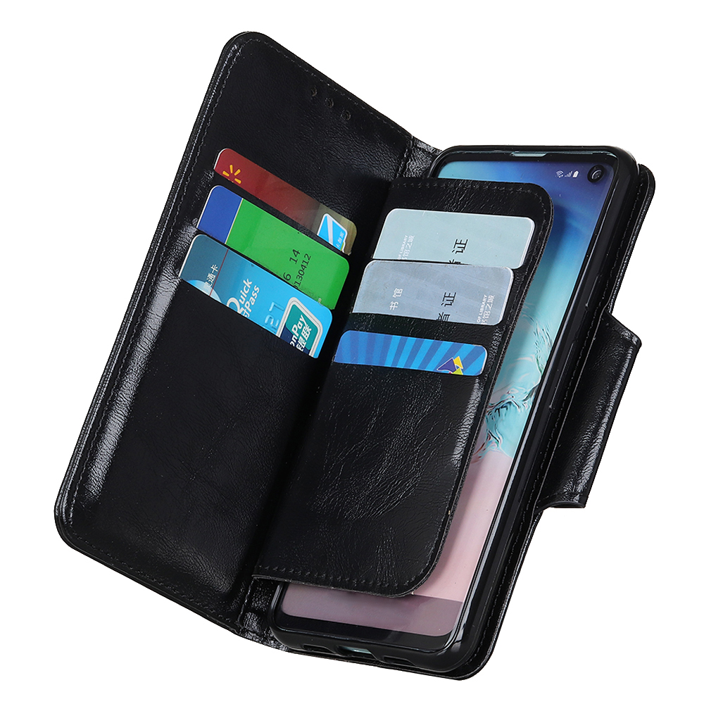 Image 5 - 6 Card Slots Wallet Flip Leather Case for LG Stylo 5 4 K40 K50 G8 G8S ThinaQ X4 Stand Magnetic Closure ID & Credit Cards Pocket-in Wallet Cases from Cellphones & Telecommunications