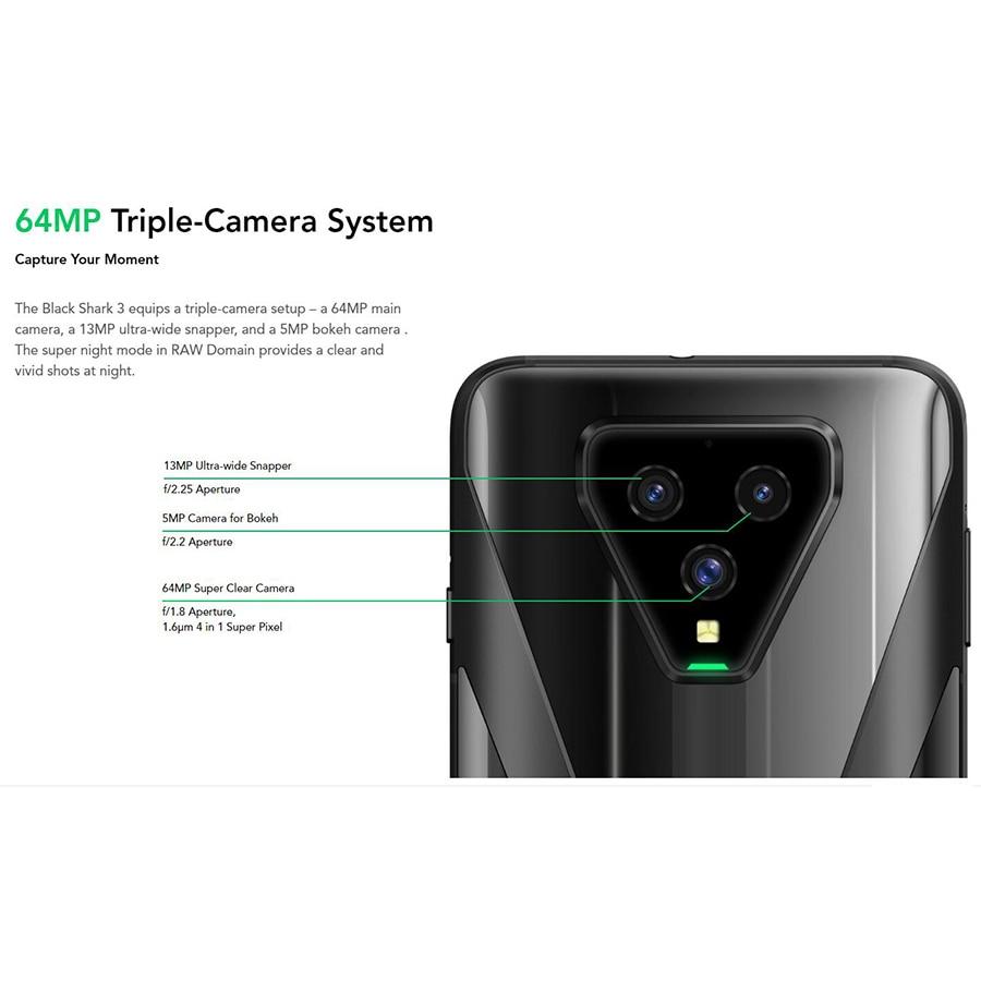 Global Version Xiaomi Black Shark 3 Game Phone 5G Dual SIM 6.67
