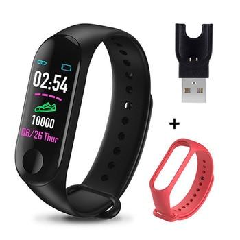 M3 Plus Smart Bracelet Heart Rate Blood Pressure Health Waterproof Smart Watch M3 Pro Bluetooth Watch Wristband Fitness Tracker 21