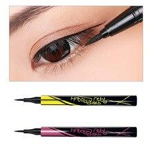 1pc preto marrom delineador caneta pequena caneta de ouro de secagem rápida à prova danti água anti-suor duradoura olho forro líquido lápis de olho ferramenta de maquiagem