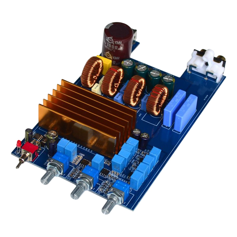 For Tpa3255 High Power Amplifier Class D Hifi 2.1 Digital Audio Amp Board Amplificador 300W+150W+150W For Home Theater Diy|Operational Amplifier Chips| |  - title=