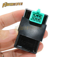 5Pin 12V Black Motorcycle 60*35*50mm AC Ignition CDI UNIT for 50CC-110CC Pit PRO Trail Quad Dirt Bike ATV Motorcycle Ignition цены