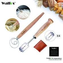 Walfos хлеб хромой новый европейский изогнутый дугой нож для