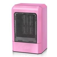 500W MINI Portable Ceramic Heater Electric Cooler Hot Fan Home Winter Warmer Electric Heaters     -