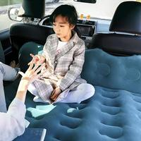 2020 New BY 828 Bridge Car SUV Universal Car Cushion Bed Double Gear Protection with Multifunctional Pillow Car Travel Bed