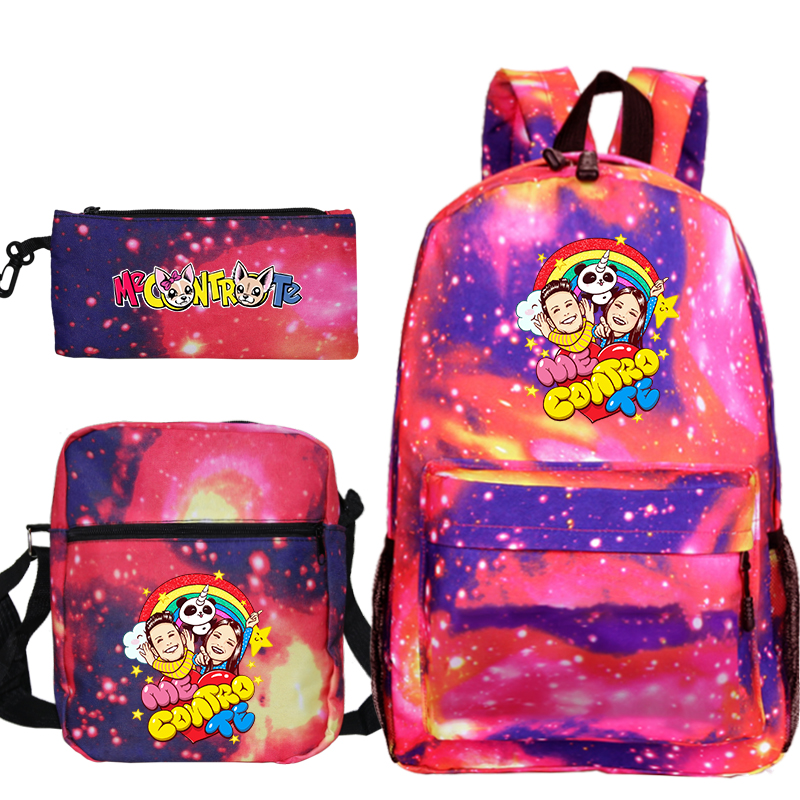 Anime Me Contro Te Monster School Bag Ash Ketchum / Mochila School Backpack Girl Boy Toddler Bag Children School Bag Pencil Bag