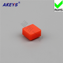 20PCS A39 / 12 7.3 red blue square plastic keypad cap dustproof waterproof