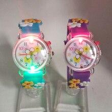 Flashing Light Source Child Boys Girls Watches Kids Electron