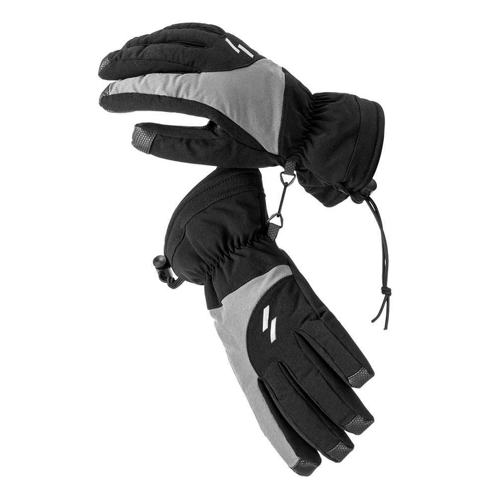 冬熱スキー手袋レザー温水 Gants Chauffant グローブサイクリングオートバイ自転車スキー手袋ユニセックス新