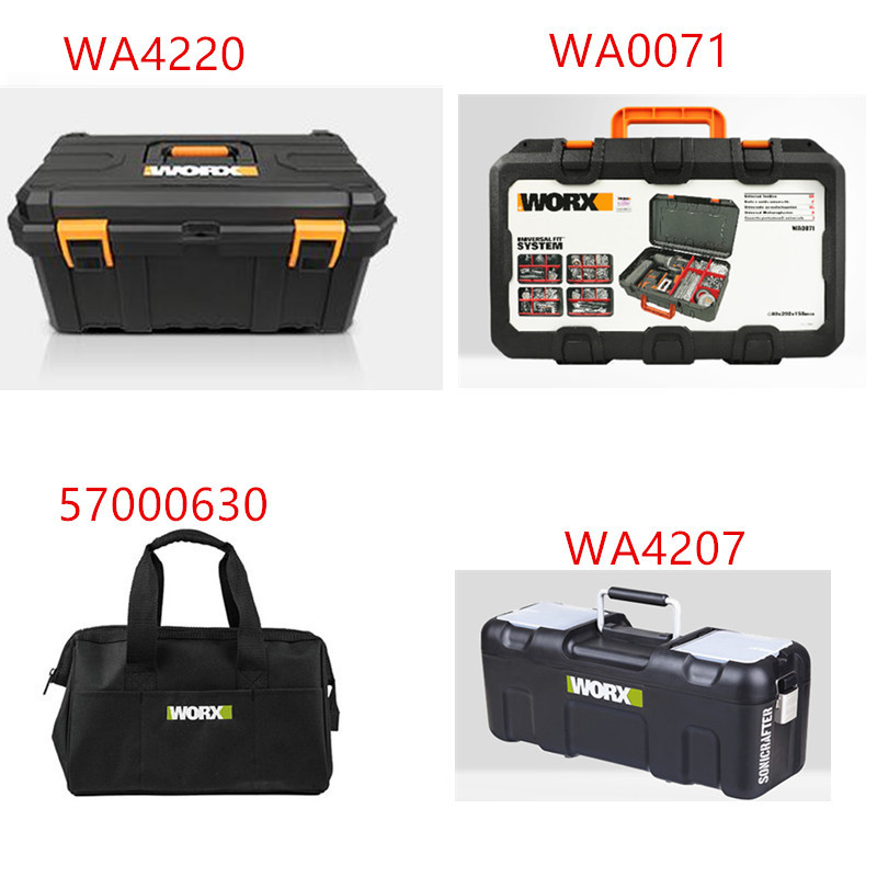 Tool Box Tools For WORX  Suitcase Case  BAG Connector  WA4220 57000630 WA4207 WA0071 Storage Suitcase