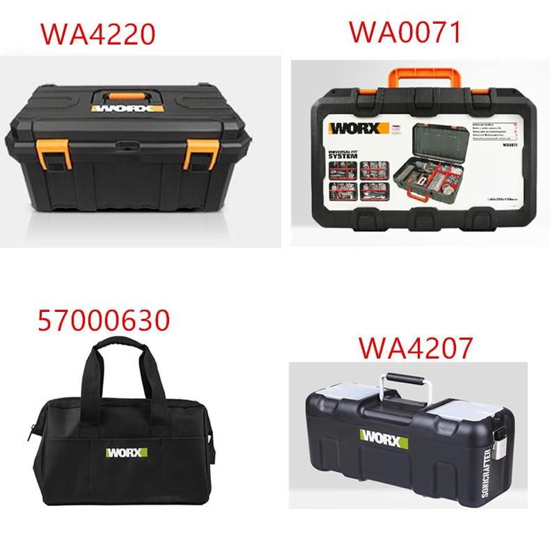 Tool Box Tools For WORX  Suitcase Case  BAG Connector  WA4220 57000630 WA4207 WA0071 Storage Suitcase