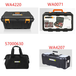 Image 1 - tool box Tools for WORX  suitcase case  BAG Connector  WA4220 57000630 WA4207 WA0071 Storage Suitcase