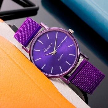 Watch For Women Stylish Relogio Quartz Watch Woman's High-end Blue Glass Life Waterproof Distinguished Relogio Feminino Reloj 2