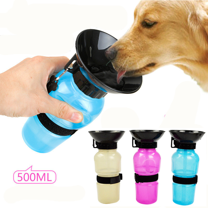 font b Pet b font Dog Drinking Water Bottle Sports Squeeze Type Puppy Cat Portable