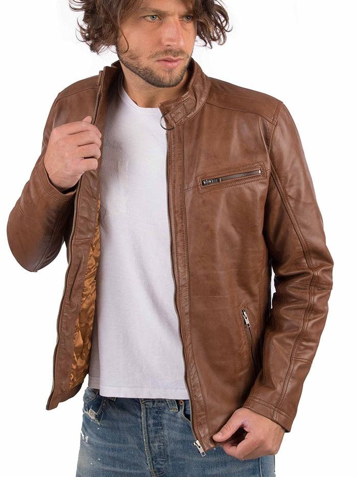 Hd9a7e2f2368e4b55bcde81fb5149d1255 VAINAS European Brand Mens Genuine Leather jacket for men Winter Real sheep leather jacket Motorcycle jackets Biker jackets Alfa