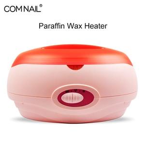 Image 5 - Hand Paraffin Heater Therapy Bath Wax Pot Warmer Beauty Salon Spa Wax Heater Equipment Keritherapy System Orange