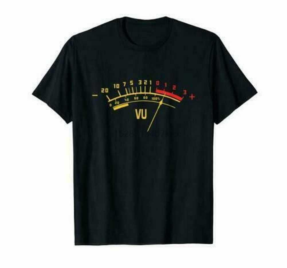 VU mètre son ingénieur analogique hauts T-Shirt noir T-Shirt M Xl 2xl 3xl pour hommes femmes T-Shirt S-5XL taille 11 couleurs