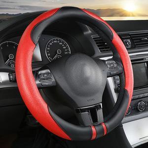 Image 5 - אוניברסלי רכב לשפשף הגה כיסוי 38cm אוטומטי החלקה כידון כיסוי עבור ארבעה עונות
