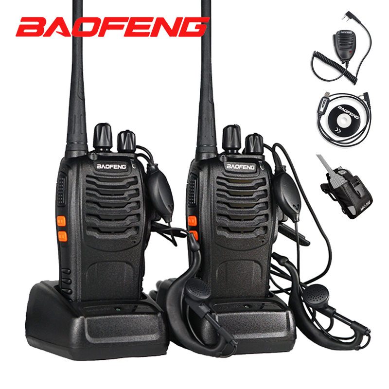 Baofeng BF 888S Two Way Radio BF-888S 6km Walkie Talkie 5W Portable CB Ham Radio Communicator Handheld HF Transceiver Interphone