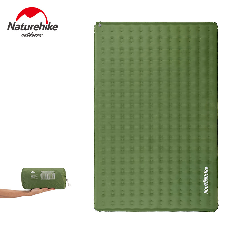 NatureHike Camping Mat Moisture-proof Folding Picnic Mat Cushion Seat Park Sit Lie Bedlike Camping Sleep Pad Inflatable Mattress