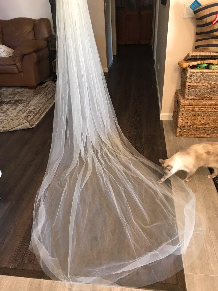 300cm Elegant Wedding Veils Bride 1 And 2 Layers Bridal Wedding Veil Accessories