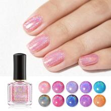 Women Gradient Shiny Sequin Phototherapy Nail Polish Gel Man