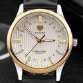 Высокое качество  роскошные брендовые наручные часы YAZOLE  мужские кварцевые часы с кожаным ремешком  мужские нарядные часы  деловые мужские ...