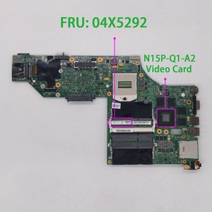 Image 1 - Pour Lenovo ThinkPad W540 FRU : 04X5292 48.4LO13.021 N15P Q1 A2 carte mère dordinateur portable testé