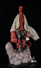 TFTOYS Custom 1/6 Scale Standing Cartoon Hellboy Full Body On Base Resin Statue( Limited Version) girls standing on lawns