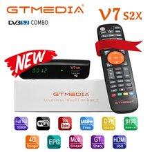 Gtmedia v7 s2x hd dvb s/s2/s2x avs + vcm/acm/multi stream/t2mi