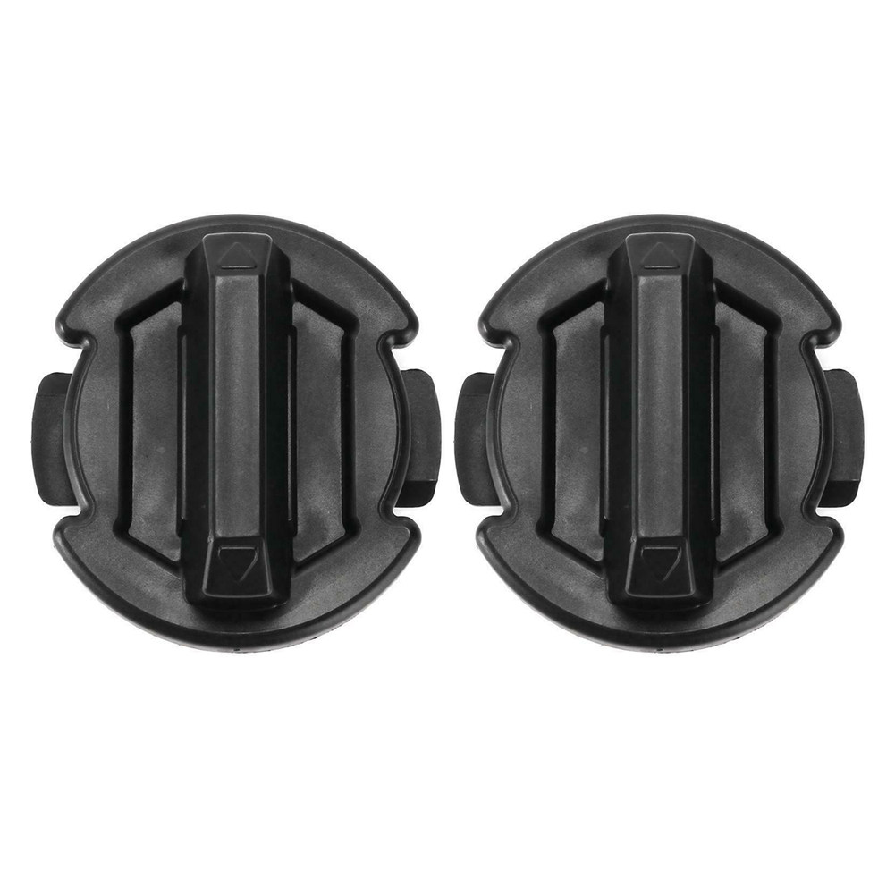 2pcs Floor Drain Plug Interior Direct Fit ABS Replacement Part 5414694 Durable Black Twist Cap For Polaris General RZR 900 1000